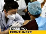 "Video : ""Humbled And Proud"": Frontline Workers On Getting First Covid Vaccines"