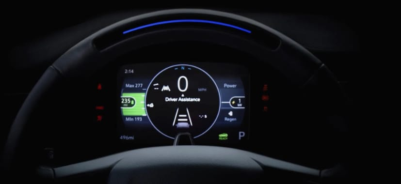 The new Super Cruise interface will debut with the Bolt EUV