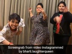 भारती सिंह बच्चों के साथ Se Te Nota गाने पर डांस करती आईं नजर, देखें Viral Video