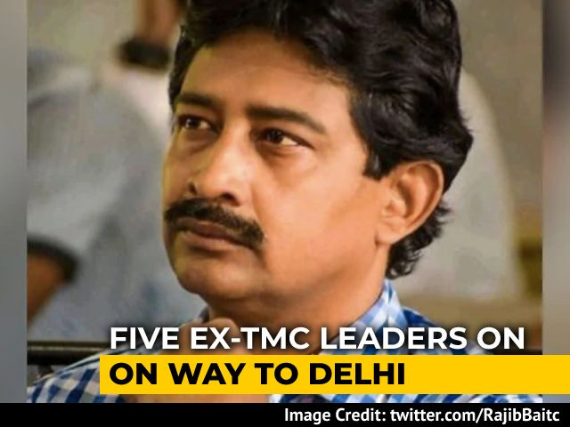 Video : Five Trinamool Leaders Being Flown In To Delhi To Join BJP
