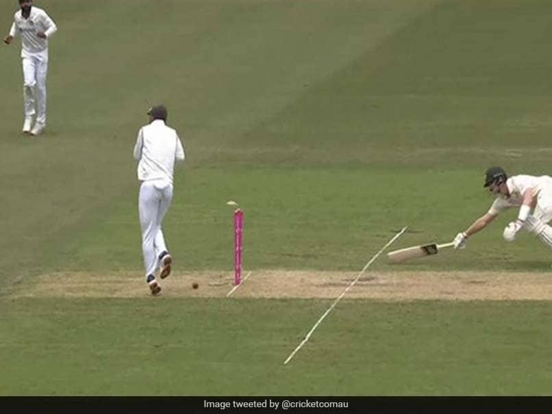 Watch: Ravindra Jadeja Runs Out Steve Smith With A Bullet Throw