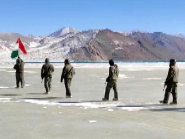 Video : Watch: ITBP Celebrate Republic Day At High-Altitude In Ladakh