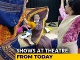 Video : Plays Back On Stage At Bengaluru's Ranga Shankara