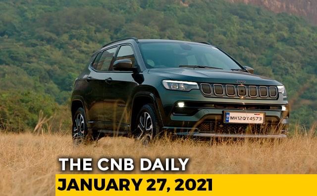 2021 Jeep Compass Prices | Tata Safari Unveiled | KTM Adventure Trail