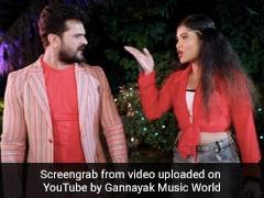 Khesari Lal Yadav और अंतरा सिंह में हुई तीखी नोक-झोंक, भोजपुरी सुपरस्टार बोले- मौका देके देखा...Bhojpuri Gana Video