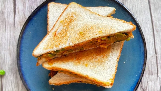 How to make Bombay Sandwich at home- Recipe Video Inside