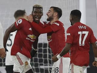 Fulham vs Manchester United: Paul Pogba Fires Manchester United Back To Premier League Summit