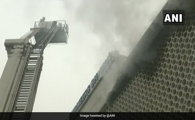 Fire Breaks Out In Building In Delhi's ITO, Security Guard Rescued