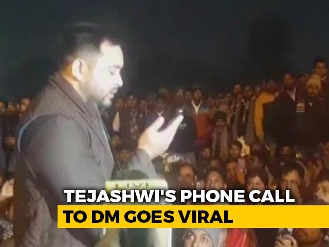 "Video : ""This Is Tejashwi Yadav Speaking"". A Phone Call In Bihar Goes Viral"