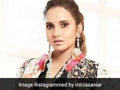 Sania Mirza's Chic Ethnic Fusion Look Is A Colourful Choice For Winter Days