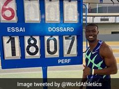 Burkina Faso's Hugues Fabrice Zango Smashes Indoor Triple Jump World Record
