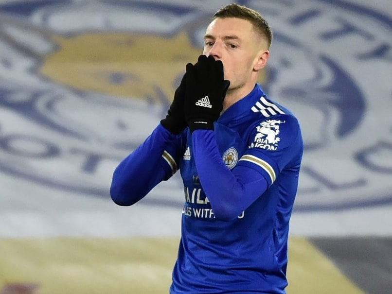 """Leicester City Suffer Huge Blow As Striker Jamie Vardy Ruled Out For """"Few Weeks"""""""