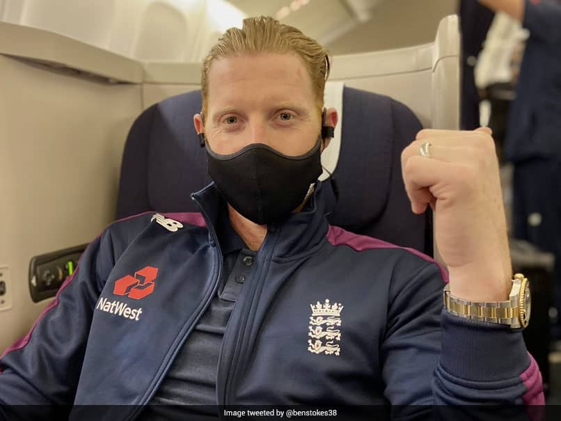India vs England: Ben Stokes Boards A Flight To India Ahead Of Test Series. See Pic