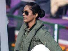 India's First Woman Fighter Pilot Participates In Republic Day Fly-Past