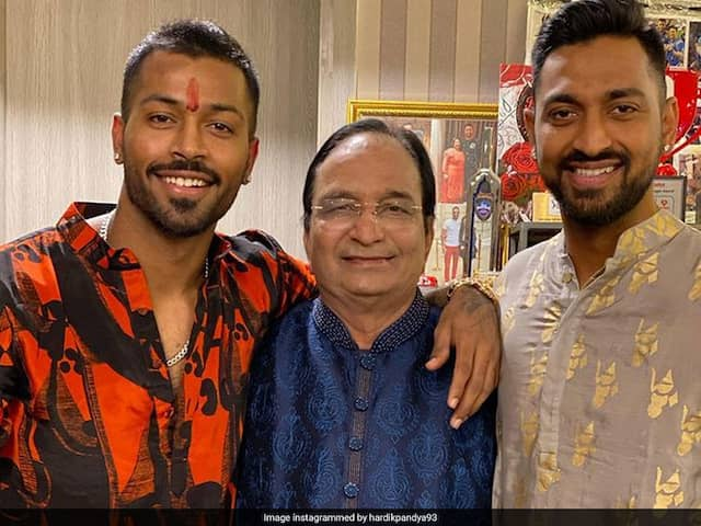Cricketers Hardik And Krunal Pandyas Father Dies