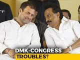 Video : Strain In DMK-Congress Alliance In Puducherry, Months Before Polls