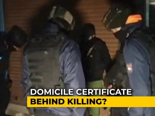 Video : Kashmir Jeweller Killed By Terrorists Over Domicile Certificate: Cops