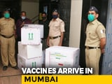 Video : First Batch Of Serum Vaccines Arrive In Mumbai Under Police Cover
