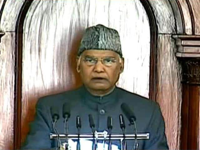 Video : President Addresses Joint Sitting Of Parliament