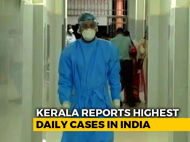 Video : Kerala Reports Highest Daily Covid Cases, Fatality Rate Among Lowest