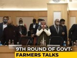 Video : Round 9 Of Government-Farmers Talks Today Amid Row Over Top Court Panel