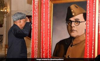 Netaji Or Actor Who Played Him? President's House Portrait Stirs New Row