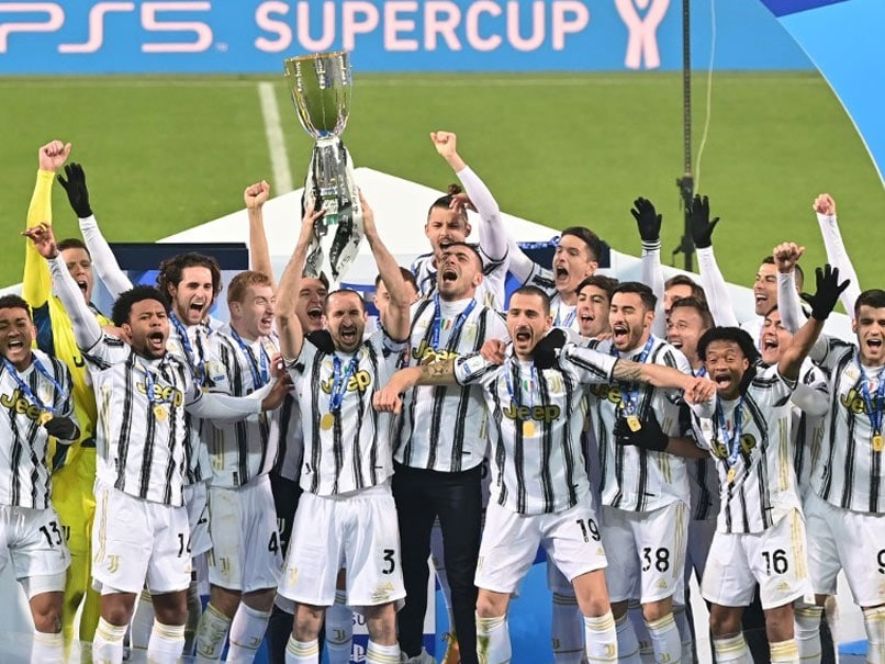 Andrea Pirlo Wins First Trophy As Juventus Beat Napoli In Italian Super Cup