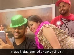Rishabh Pant Spends Quality Time With MS Dhoni, Sakshi Before England Tests