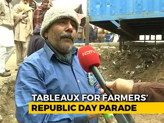 Video : Tableaux For Farmers' Republic Day Parade