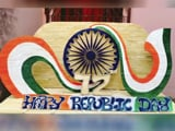 Video : Puri Artist Creates Tricolour Craft Using Ice-cream Sticks On Republic Day