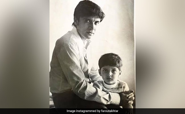 Farhan's Birthday Wish For Javed Akhtar Is The Father Of Throwbacks