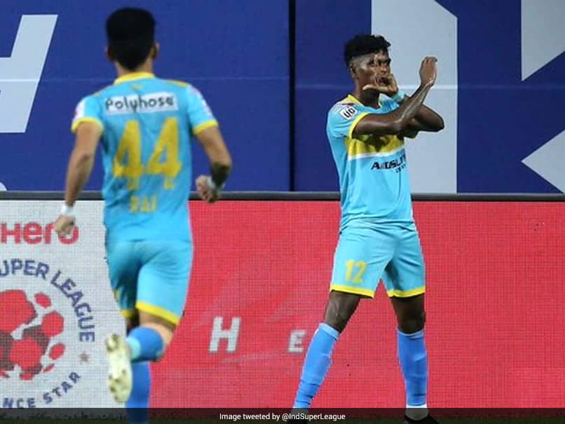 ISL: Liston Colacos Late Goals Power Hyderabad FC To Victory Over NorthEast United FC