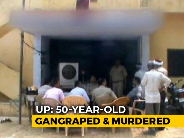 Video : 50-Year-Old Woman Gangraped, Murdered In UP, 2 Arrested