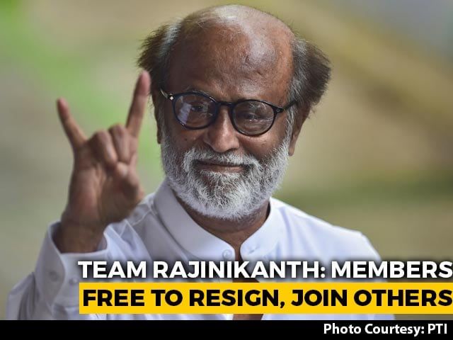 Video : Free To Join Other Parties: Team Rajinikanth As Some Members Move To DMK