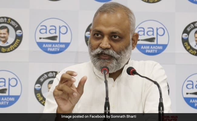 'Injustice': AAP On MLA Somnath Bharti's 2-Year Jail Term In Assault Case