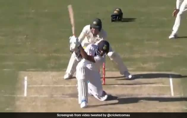 "Watch: Washington Sundar Smashes Lyon For Incredible ""No-Look Six"""