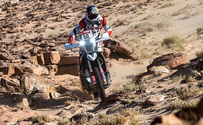 India's CS Santosh is placed 34th in the overall standings in Dakar 2021 at the end of Stage 3