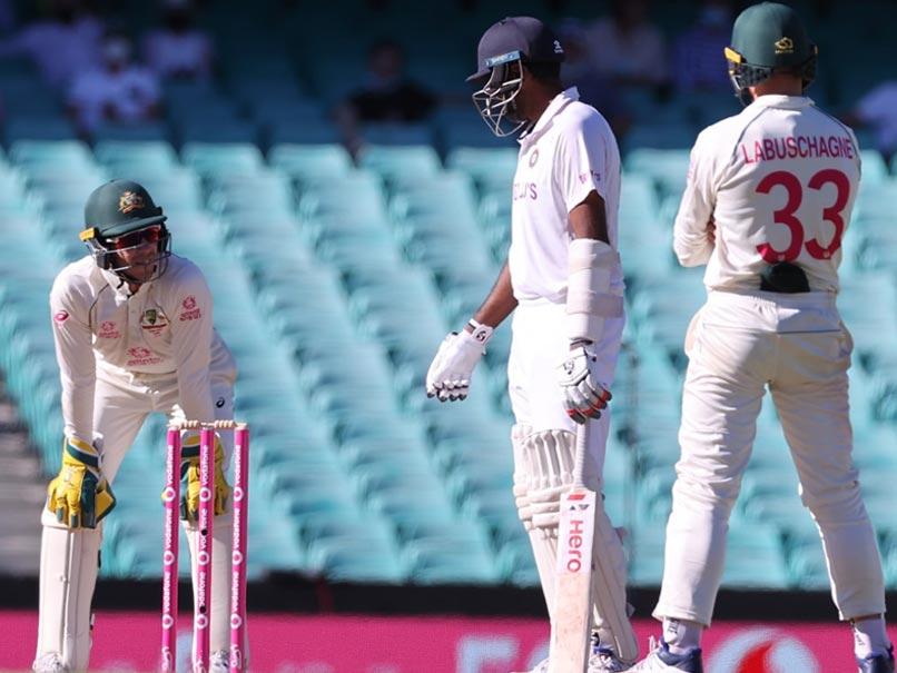 AUS vs IND, 3rd Test: Tim Paine Gets Hammered On Social Media For Sledging  Ravichandran Ashwin On Day Five   Cricket news - Hayat