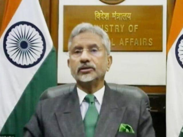 Video : India, China At Crossroads, Choices Will Have Global Repercussions: Foreign Minister S Jaishankar