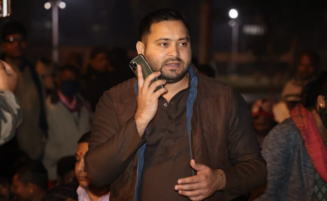 Tejashwi Yadav Wades Into Assam Electoral Waters Looking For Allies