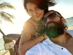 A Sun-Kissed Pic Of Yash And Radhika From Their Vacation