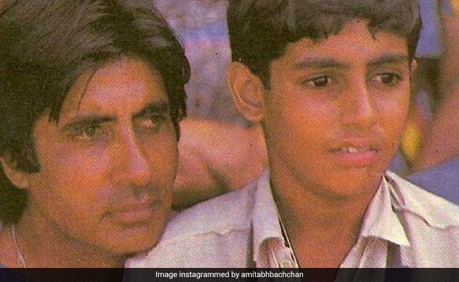 When Abhishek 'Signed His First Autograph' - Dad Amitabh Bachchan Remembers