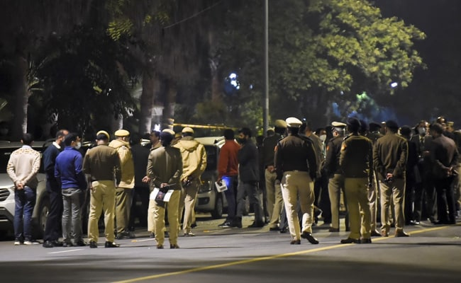 2 Spotted In CCTV After Blast Near Delhi's Israel Embassy, Probe On: Report
