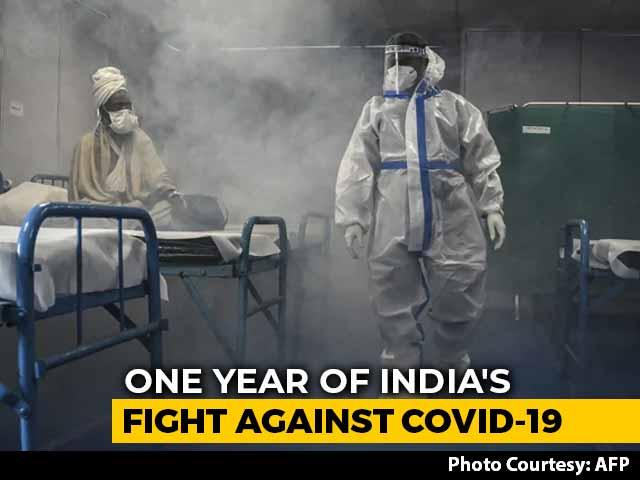 Video : One Year Of India's Fight Against Coronavirus: 1.7 Crore Cases So Far