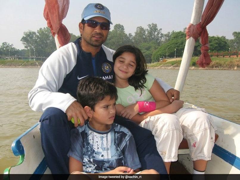 "Sachin Tendulkar Throwback Pic On National Girl Child Day, Says ""Celebrate Our Girls And Boys Alike"""