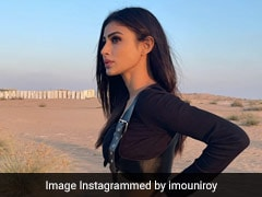 Mouni Roy's Love For All Black Outfits Continue In A Rugged Safari Chic Look