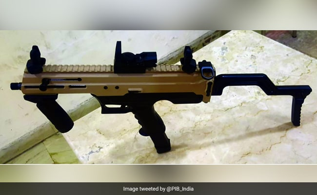 Defence Research Body, Army Develop India's 1st Indigenous Machine Pistol