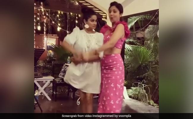 शिल्पा शेट्टी ने बहन शमिता संग 'बदन पे सितारे' सॉन्ग पर किया डांस, बार-बार देखा जा रहा Video