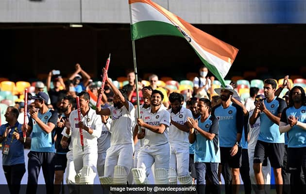 """Win """"Beyond Any Number"""": Ganguly As 5-Crore Bonus Declared For Team India"""