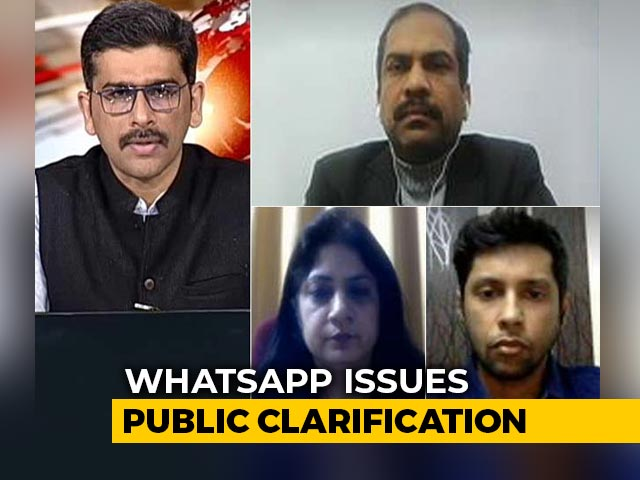 Video : WhatsApp Issues Clarification On New Policy